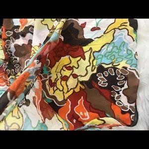 Diane Von Furstenberg Dresses - Diane Von Furstenberg silk shirt Sundress